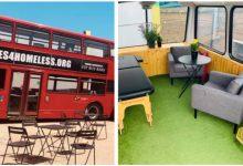 Photo of A Londra i famosi autobus rossi diventano un riparo per i senzatetto