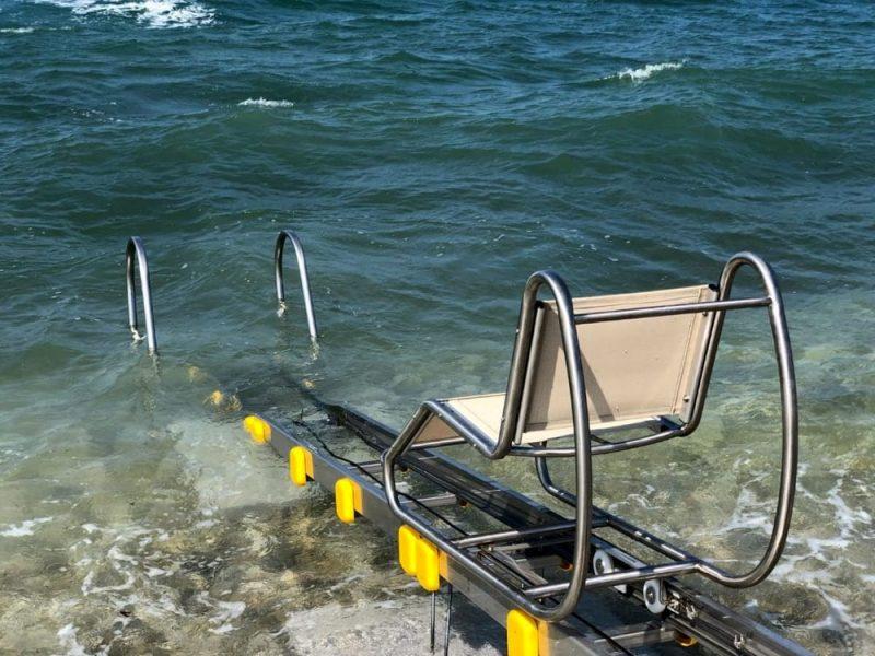 Passerella per i disabili a Bari
