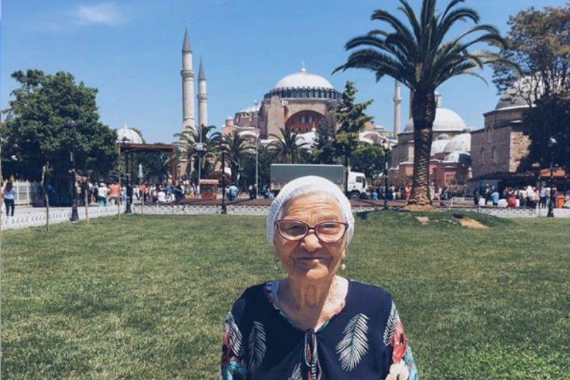 Lena, nonna giramondo