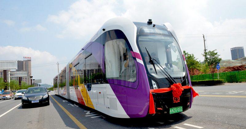Il primo tram ecologico, ART