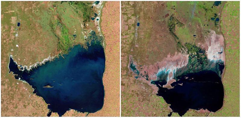 Lago Mar Chiquita, Argentina