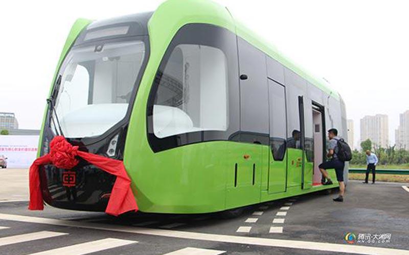 Tram ecologico in Cina