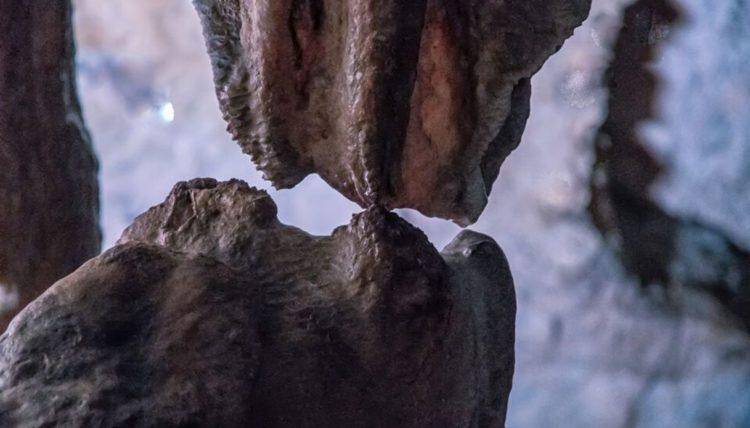 Il bacio nelle Grotte di Pertosa-Auletta