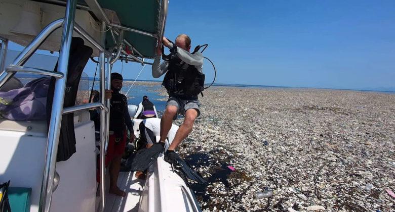 Scoperto un mare di plastica nei Caraibi
