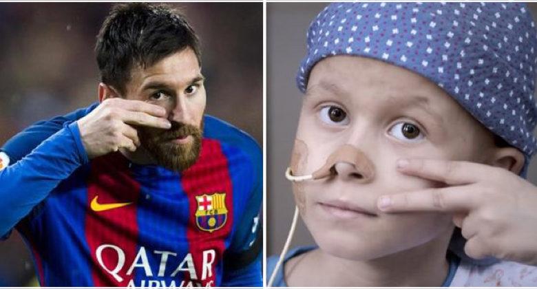 Lionel Messi costruisce centro per la cura del cancro infantile