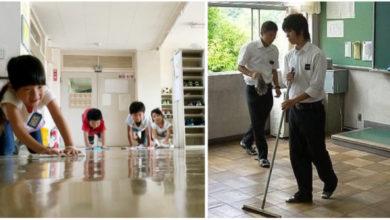 Photo of Gli studenti giapponesi puliscono aule e bagni a fine lezione. E così imparano il senso di responsabilità