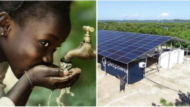 Photo of In Kenia il primo impianto solare capace di rendere potabile l'acqua dell'oceano