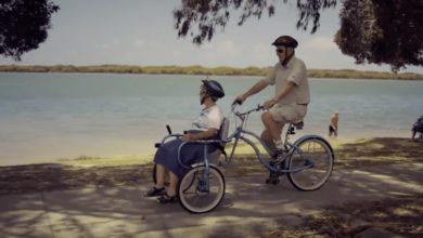 Photo of Inventa una bicicletta speciale per portare con sé la moglie affetta dall'Alzheimer