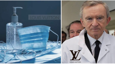 Photo of Louis Vuitton, non più profumi, ma gel antibatterico contro il COVID-19