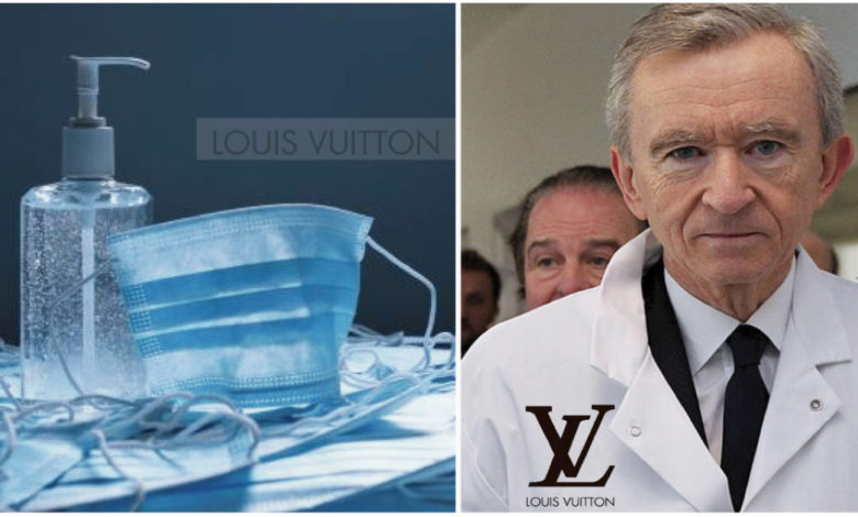 Photo of Louis Vuitton, non più profumi, ma gel antibatterico contro il COVID-19