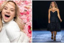 Photo of Modella con la sindrome di Down infrange gli standard e rivoluziona la settimana della moda a New York