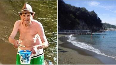 Photo of La storia di Vittorio, il pensionato che ogni mattina si alza all'alba per ripulire la spiaggia della sua città
