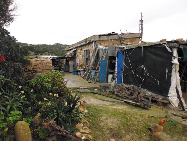 La casa del custode dell' isola