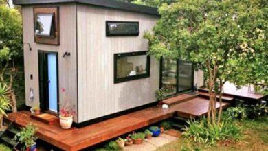 Photo of Una coppia costruisce una mini casa zen da sogno. Un piccolo rifugio di cui tutti avremmo bisogno
