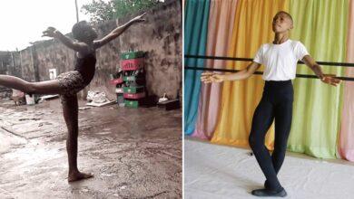 Photo of Il ballerino che danzava nel fango ha vinto una borsa di studio presso l'American Ballet Theatre di New York e ora può realizzare il suo sogno