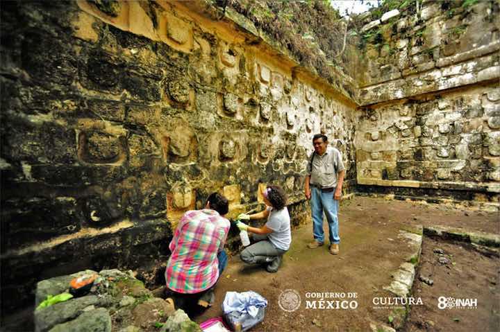 L'antico palazzo dell'epoca Maya scoperto in Messico
