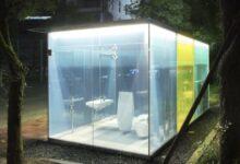 Photo of In Giappone i bagni pubblici sono di vetro trasparente e super tecnologici, una vera e propria attrazione turistica