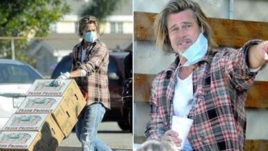 Photo of Brad Pitt si prodiga per i più bisognosi consegnando frutta e verdura, ma nessuno lo riconosce