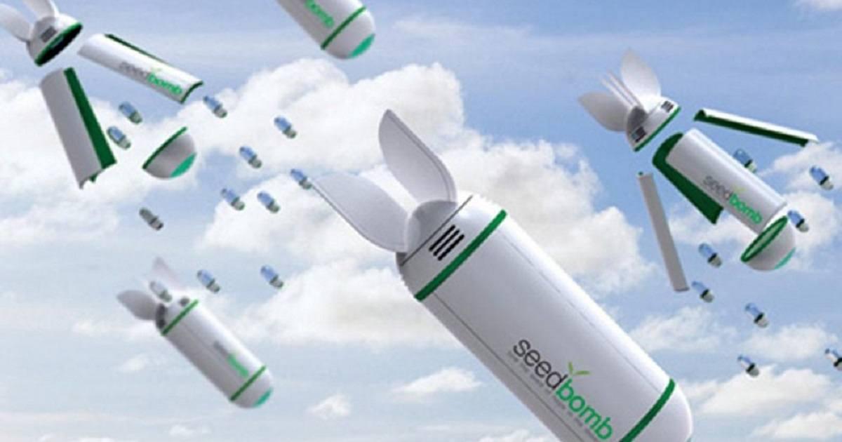 Bombe di semi dal cielo