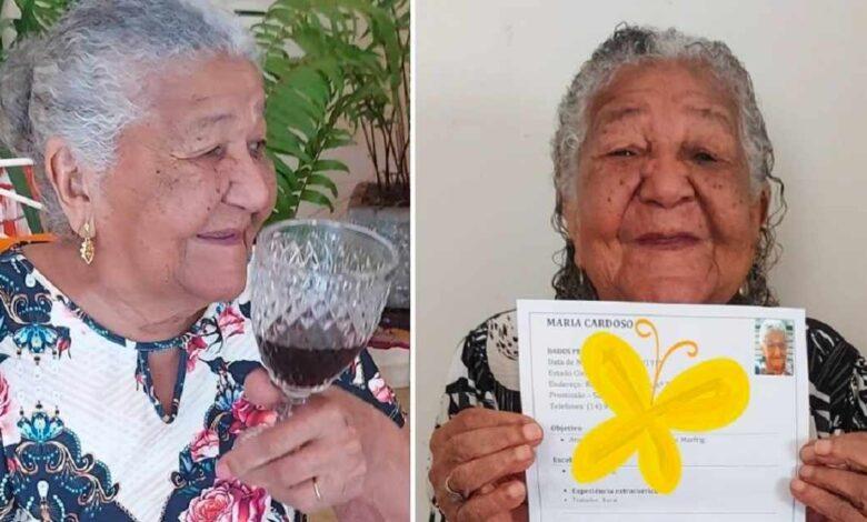 Donna di 101 anni