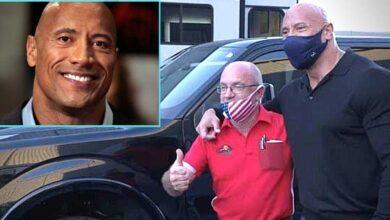 Photo of Dwayne Johnson regala un'auto da 157 mila dollari alla persona che l'ha accolto da bambino quando non aveva casa