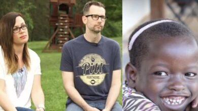 Photo of Coppia adotta una bimba africana credendola povera e trascurata, poi scopre che aveva una famiglia