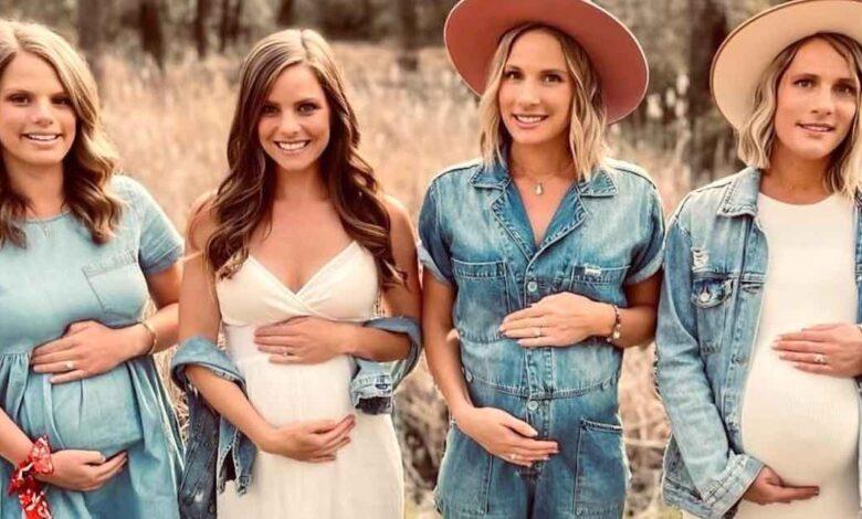 Quattro sorelle rimaste incinte
