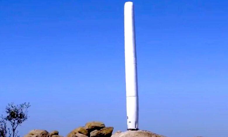 Turbina eolica senza pale