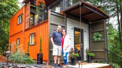 Photo of Una coppia costruisce la propria casa con dei container: l'idea più semplice ed economica  per non pagare più le tasse e l'affitto