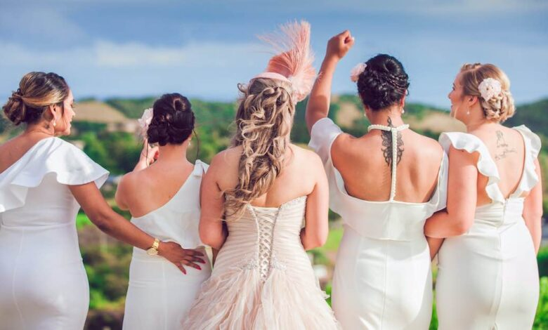 La damigella rifiuta di partecipare al matrimonio