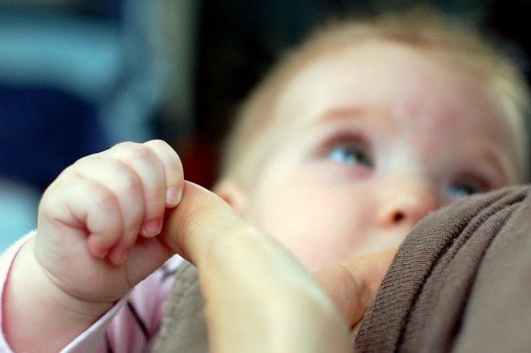 allattare mia figlia di 6 mesi