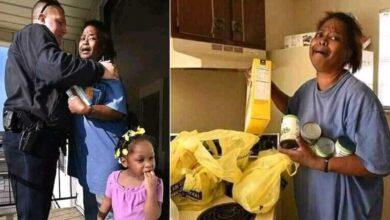 Photo of Una madre disperata viene sorpresa a rubare le uova per la sua famiglia: il poliziotto le compra un'intera confezione sensibilizzando il web a donarle cibo